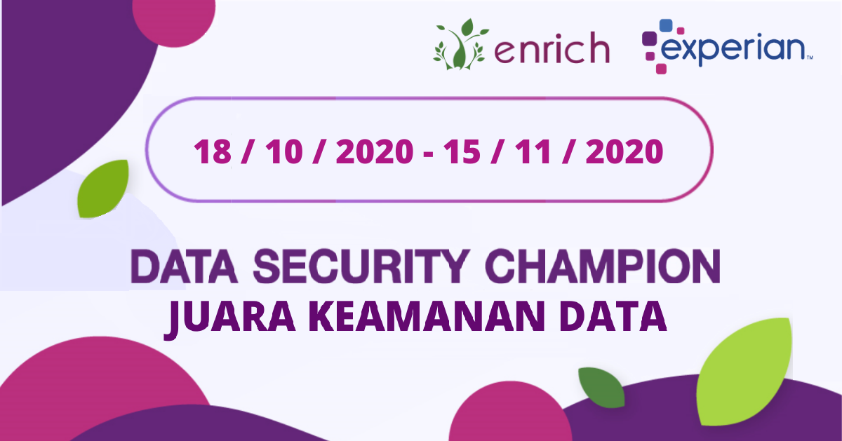 Data Security Champion - English/ Bahasa logo